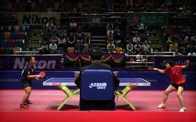 Table Tennis Doubles Rules Rio 2016 Olympics Table Tennis Guide
