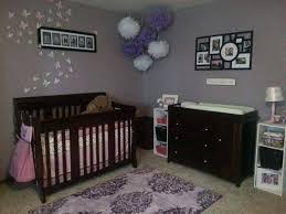 Purple Nursery Decor Purple Baby Room Amazing Purple Baby Nursery Room Ideas With