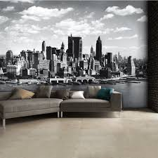 Giant Wall Murals by And White New York City Skyline Wall Mural 315cm X 232cm