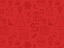 christmas pattern christmas icons pattern by zlatko najdenovski dribbble