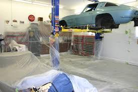 corvette restoration shops restoration of 1964 corvette coupe part 4 jerry
