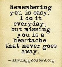 this quote is to true miss the loved ones that like