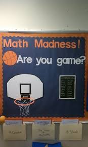March Madness Decorations March Bulletin Board March Madness Themed Classroom Door