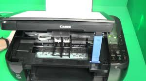 canon ink cartridges with print head not recognized missing