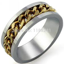 aliexpress buy gents rings new design yellow gold 10pcs lot size 6 15 braid design women men finger ring titanuim