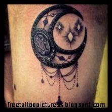 choosing the right tattoo moon tatoos