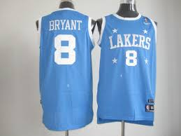 lakers light blue jersey cheap nba los angeles lakers 8 kobe bryant blue jersey for sale