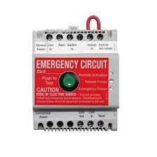 unit equipment emergency lighting amazon com wattstopper elcu 100 emergency lighting control unit 120