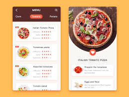 appli cuisine android 404 best food app images on user interface app design