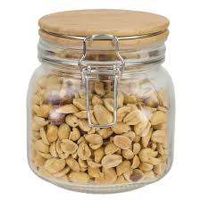 kitchen canisters jars the home depot 27 oz glass jar