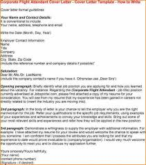 Resume Sample Flight Attendant Flight Attendant Cover Letter Example