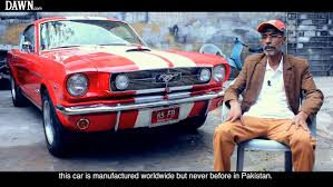 lexus cars for sale in lahore karachi auto shop owner breathes new life into 1965 ford mustang