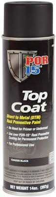 should i put a top coat on painted cabinets por 15 45918 chassis black top coat spray paint 15 fl oz