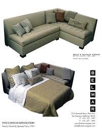 Upholstery Sectional Sofa 104 X 84 Sectional Sleep Sofa Belmar Custom Upholstery