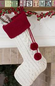 knitting pattern for christmas stocking free knit christmas stockings 17 free patterns grandmother s pattern book