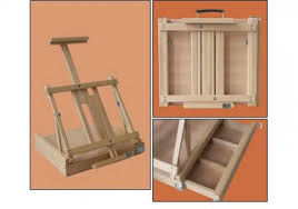 koffer design sandras bastelladen design koffer tisch staffelei milva