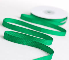 emerald green ribbon emerald green grosgrain ribbon ribbon and trims craft supplies