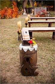 Fall Wedding Aisle Decorations - fall wedding ideas rustic wedding program ideas deer pearl flowers