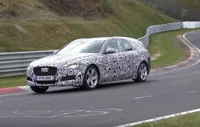 new jaguar xf sportbrake spotted at nurburgring video