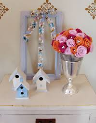 Spring Decorating Ideas For The Home Spring Decor A Two Minute Decorating Idea For Your Sparkling Home