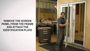 sliding glass doggie doors outswing patio door choice image glass door interior doors
