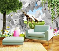 china digital printing 3d effect wallpaper for kids room china