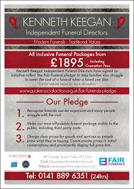 funeral cost funeral cost kenneth keegan funeral directors johnstone