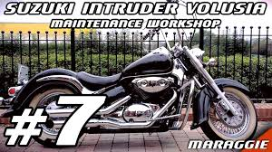 suzuki intruder volusia maintenance workshop part 7