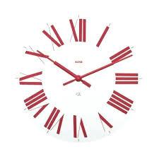 pendule cuisine design horloge de cuisine horloge design moderne coloris noir u