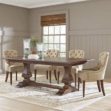 Birch Dining Table And Chairs Farmhouse Dining Tables Birch Table Pictures