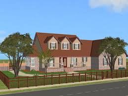 mod the sims pippenville 1 one story three bedroom house