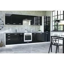 buffet de cuisine noir meuble cuisine design meuble haut de cuisine design 60 cm pour