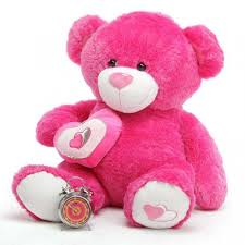 big teddy buy pink 3 5 big teddy with a heart online at