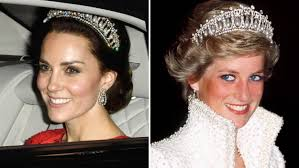 kate middleton wedding tiara duchess kate stuns in princess diana s signature tiara today