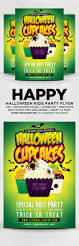 halloween cupcakes kids party flyer by designblend graphicriver