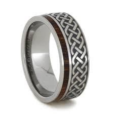 titanium celtic wedding bands 2017 mens 8mm black tungsten wedding bands celtic design for