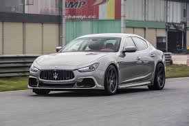 gray maserati aspec maserati ghibli carbon fiber kit from china packs aggression