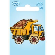 dump truck iron on joann