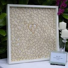 wedding guest book picture frame rustic wedding guest book frame custom alternatives drop box