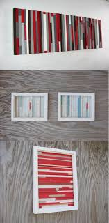 painted wood artwork accessories striped painted wood artwork for walls 30 wooden
