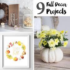 Homemade Fall Decor - 9 diy fall decor projects u2014 weekend craft