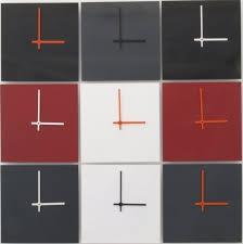 design wanduhren wanduhr alu weiß schwarz design wanduhr direkt vom hersteller
