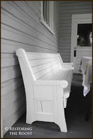 Church Pew Style Bench 121 Best Farm Tables And Church Pews Images On Pinterest Church