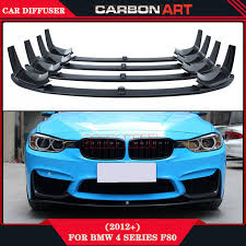bmw 4 series m3 aliexpress com buy car styling carbon fiber m4 m3 front bumper
