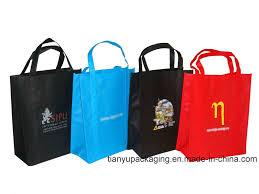 china promotion pp non woven shopping eco bag with print logo