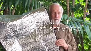 hennessy hammock doublebubble radiant insulation pad youtube