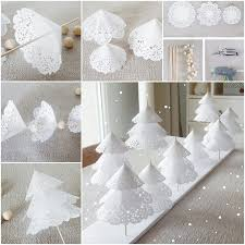diy paper doily tree tutorial