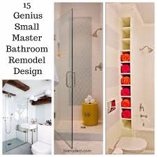small master bathroom remodel ideas 15 genius small master bathroom remodel design homadein