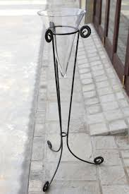 Vase Stands Wrought Iron Stand With Vase Accolades Décor