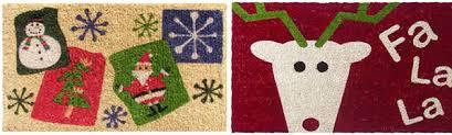 Holiday Doormat Cheap Christmas Doormats U0026 Be Merry Holiday Indoor Outdoor Mat